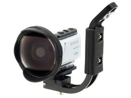 INON UWH1 Set mit Handgriff & SD Mount für Sony-X3000 FDR / X3000R & Sony-AS300 HDR / AS300R 001