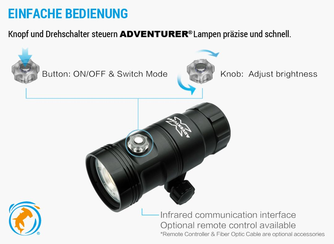 Adventurer M6000-WRBT Video Licht – Bild 2
