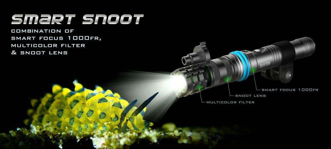 Weefine Smart Snoot 1000 | WF069 Miniblitz für Unterwasserfotografie – Bild 5
