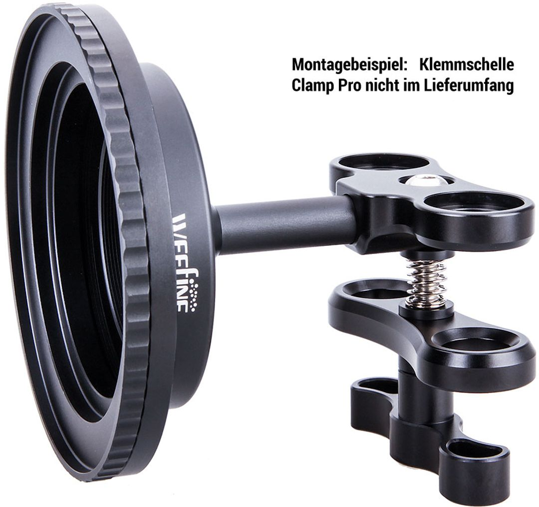 WeeFine WFA50 Lens Holder M52 M67 für Clamp Pro & Smart Tray – Bild 2