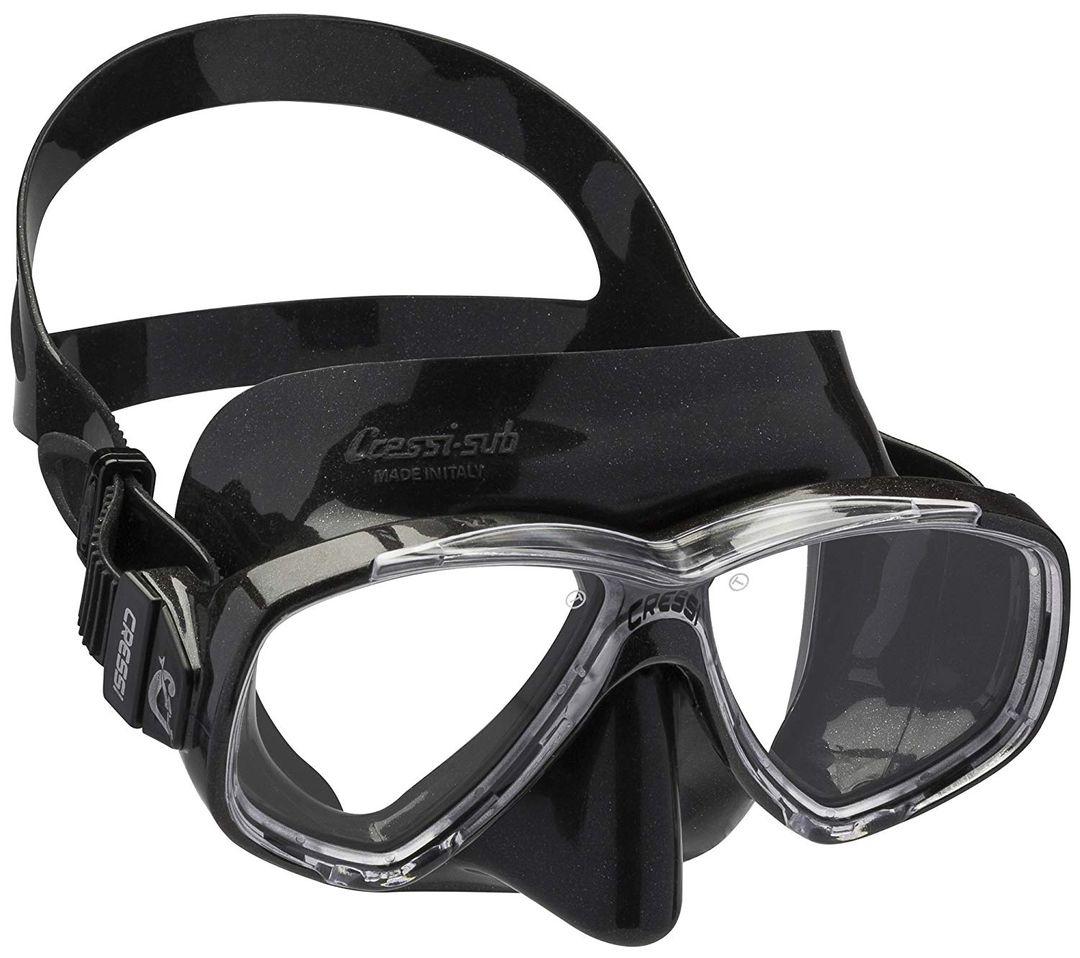 Cressi Perla Taucherbrille Schwarz - Tauchermaske Tauchmaske – Bild 1