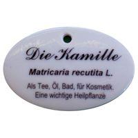 Porzellanschild Kamille