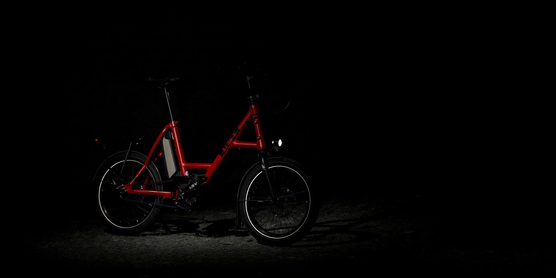 Fahrrad Reflektoren Fahrer Berlin