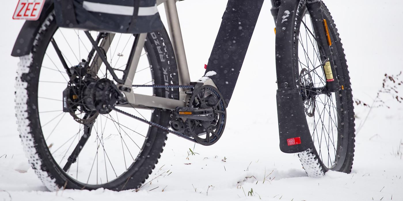 E-Bike Spritzschutz Latz