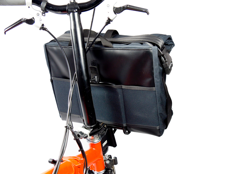 FRONT RACK Brompton + GANOVE shoulder bag – Bild 4