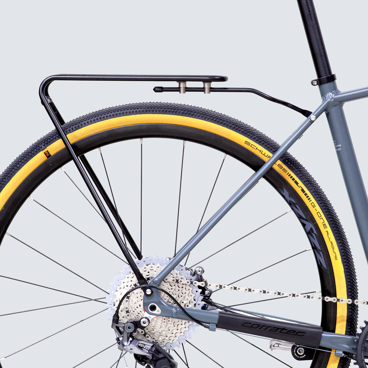 DOUBLE RACK 28 - bicycle rear carrier