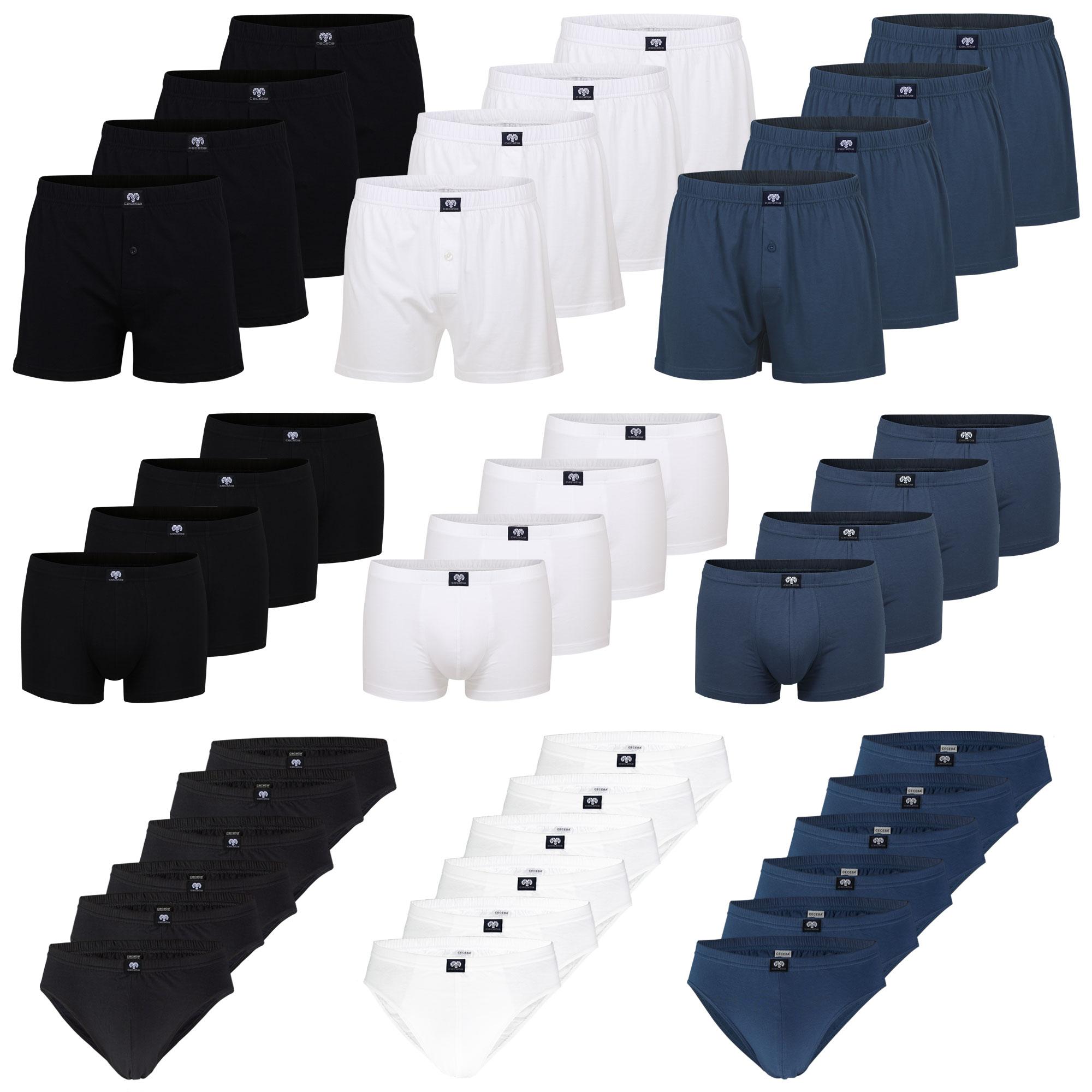 CECEBA Herren Slips, Unterhosen, Pants, Boxershorts, auch Gr. 10, 12, 14, 16, 18 – Bild 1