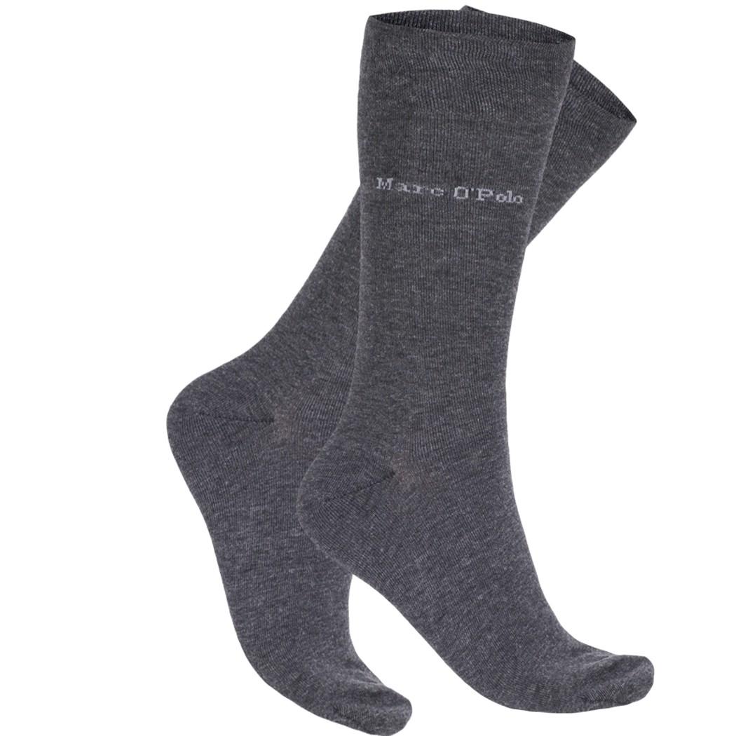 6 Paar MARC O´POLO Socken ROMA, Schwarz, Anthrazit, Dunkelblau, Dunkelbraun, Neu – Bild 3