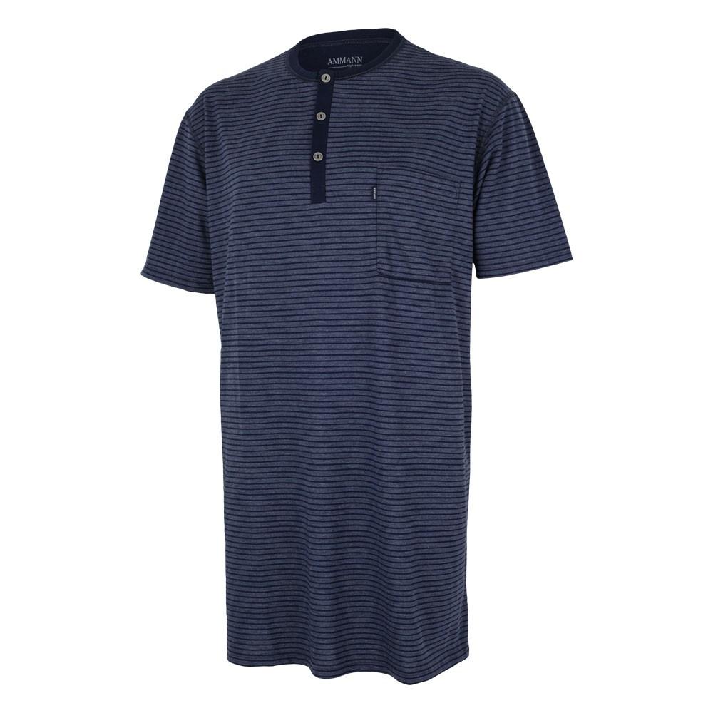 AMMANN ® Herren Nachthemd kurz, Nachtwäsche, Schlafanzug, Neu – Bild 3