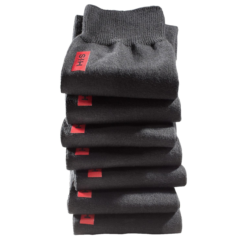 HIS, 7 Paar Herren Socken für Freizeit und Business, H.I.S, Neu – Bild 3
