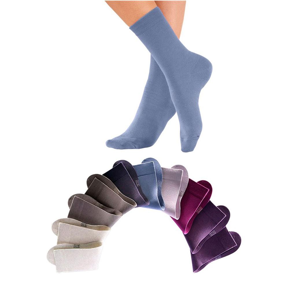 HIS, 10 Paar Unisex Socken, Damen und Herren, Freizeit und Business, H.I.S, Neu – Bild 15