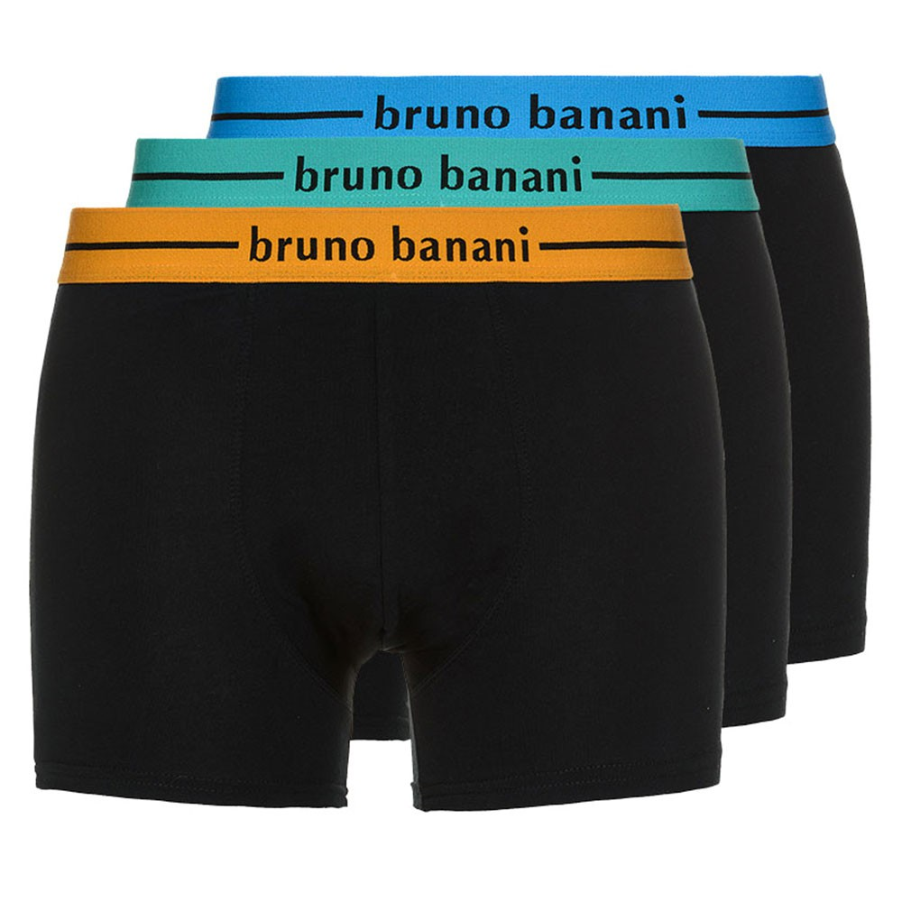 Bruno Banani 3er Pack Herren Cotton Shorts, Boxershorts, Pants, Trunks, NEU – Bild 2