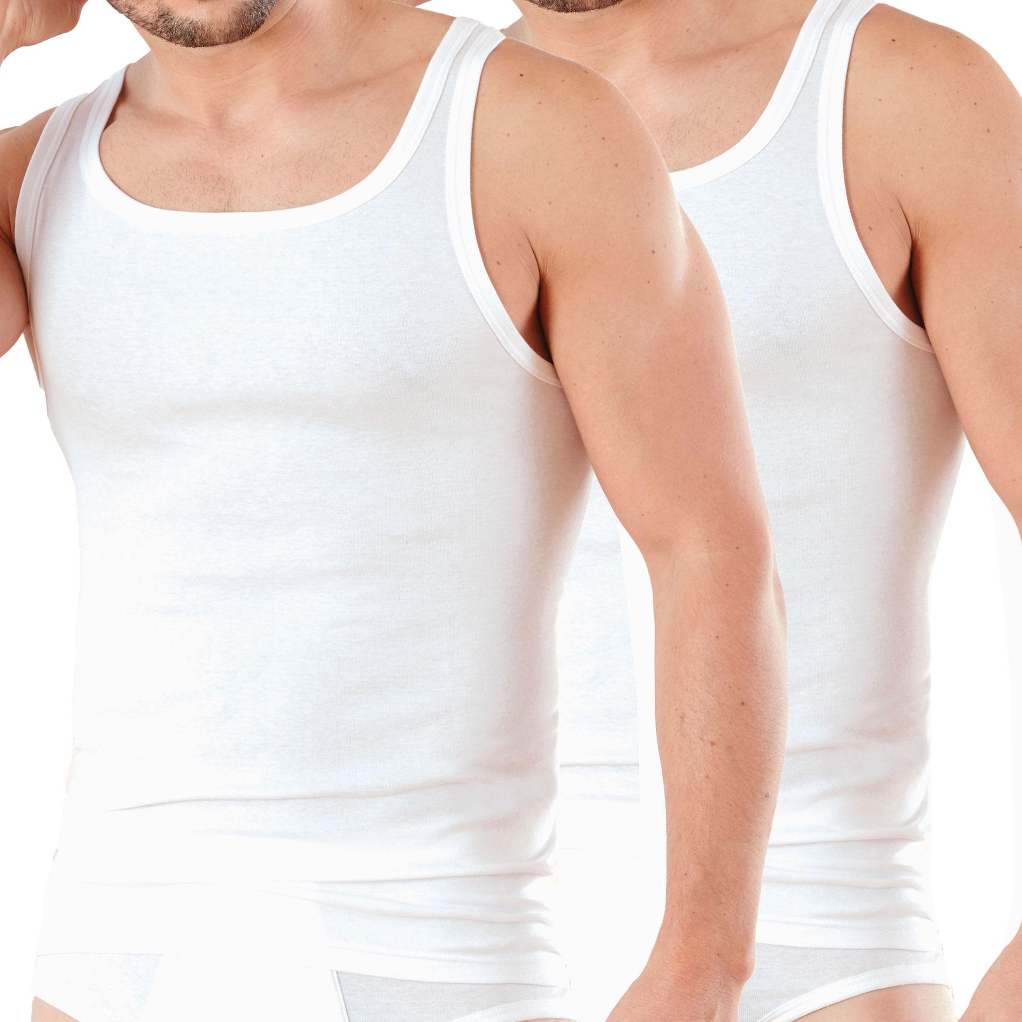 AMMANN ® 2er Pack Unterhemden ohne Arm – Bild 1
