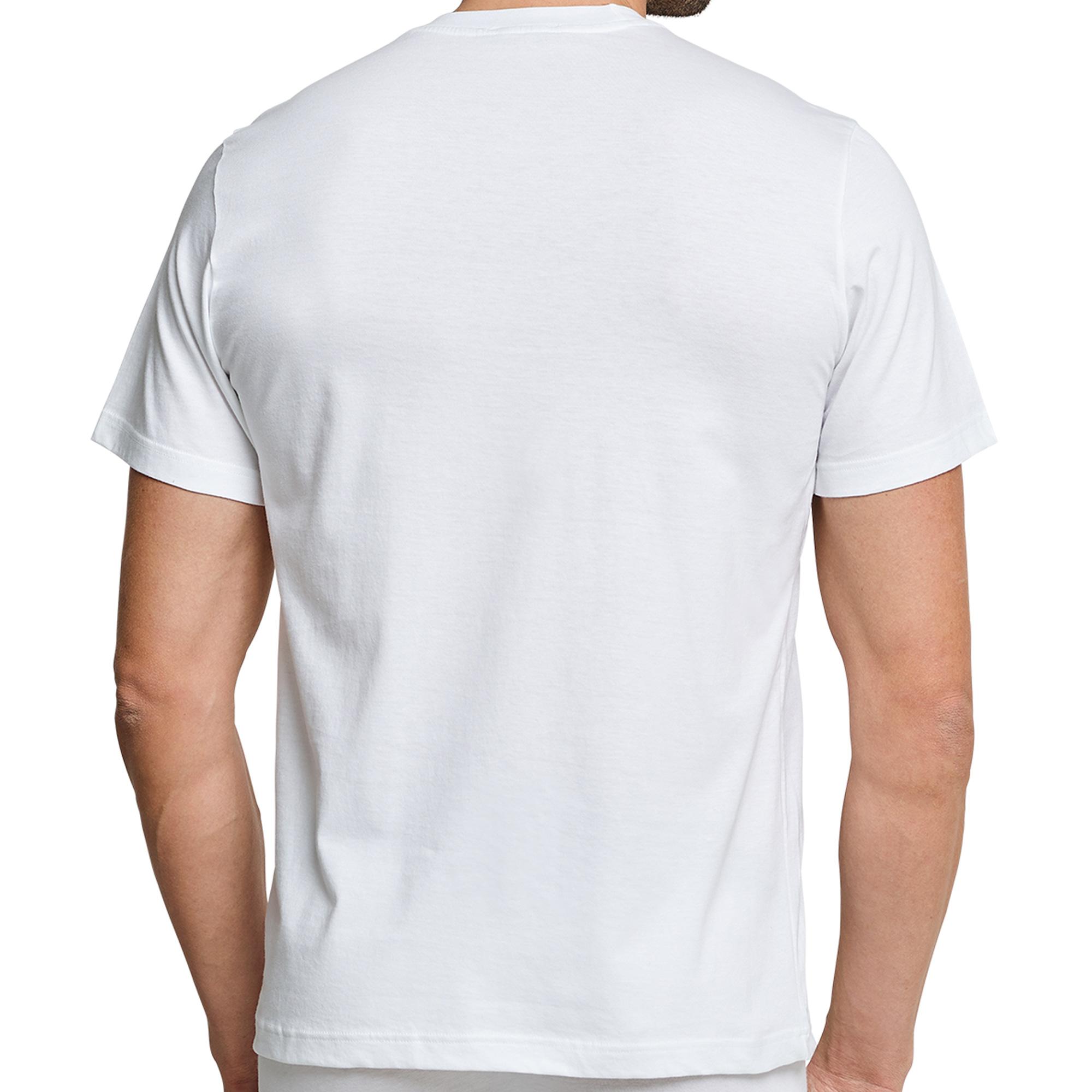 2er Pack Schiesser Herren American T- Shirts mit Rundhals, 100% Baumwolle, Neu – Bild 4