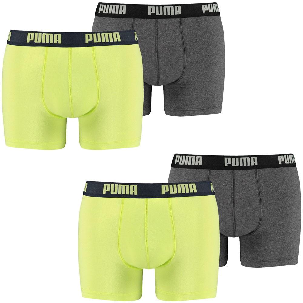 PUMA Herren Boxershorts, 4er Pack Boxers, Pants, Shorts, Unterhosen, Mode, Neu – Bild 3