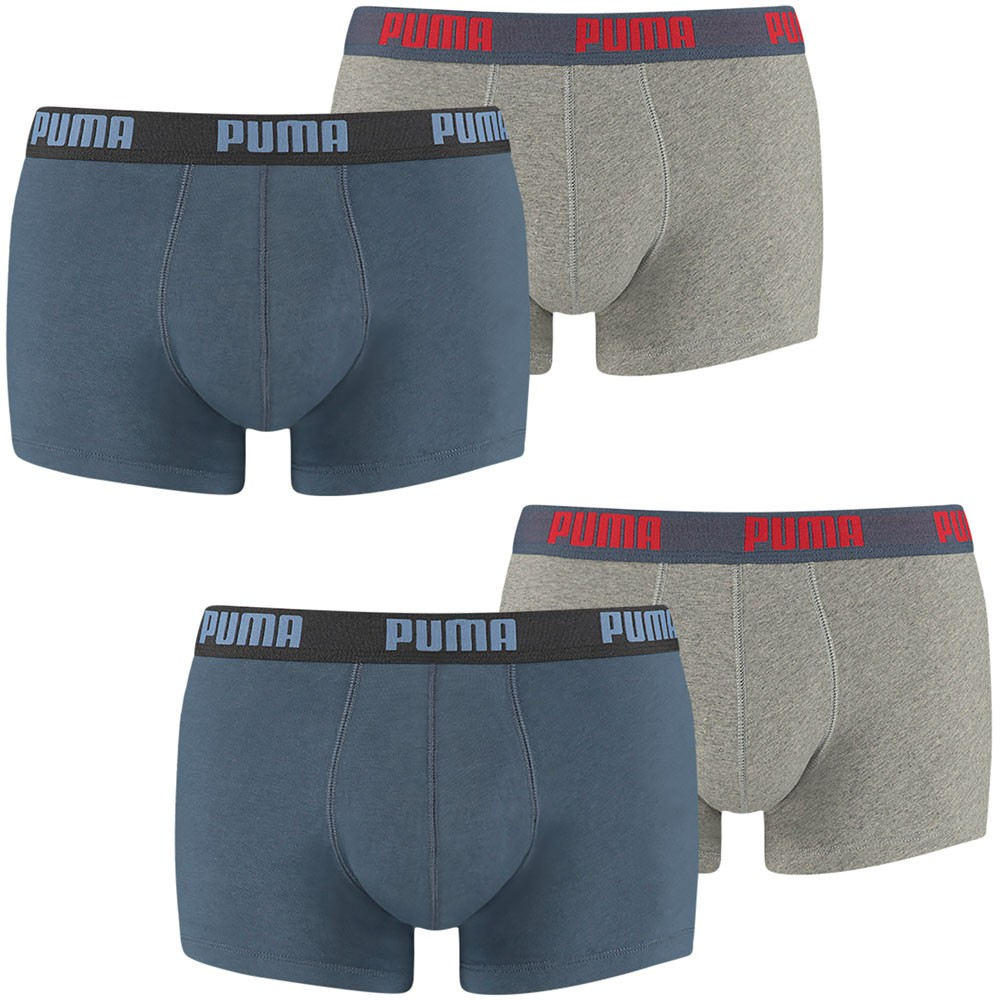 PUMA Herren Boxershorts, 4er Pack Trunks, Pants, Shorts, Unterhosen, Mode, Neu – Bild 2