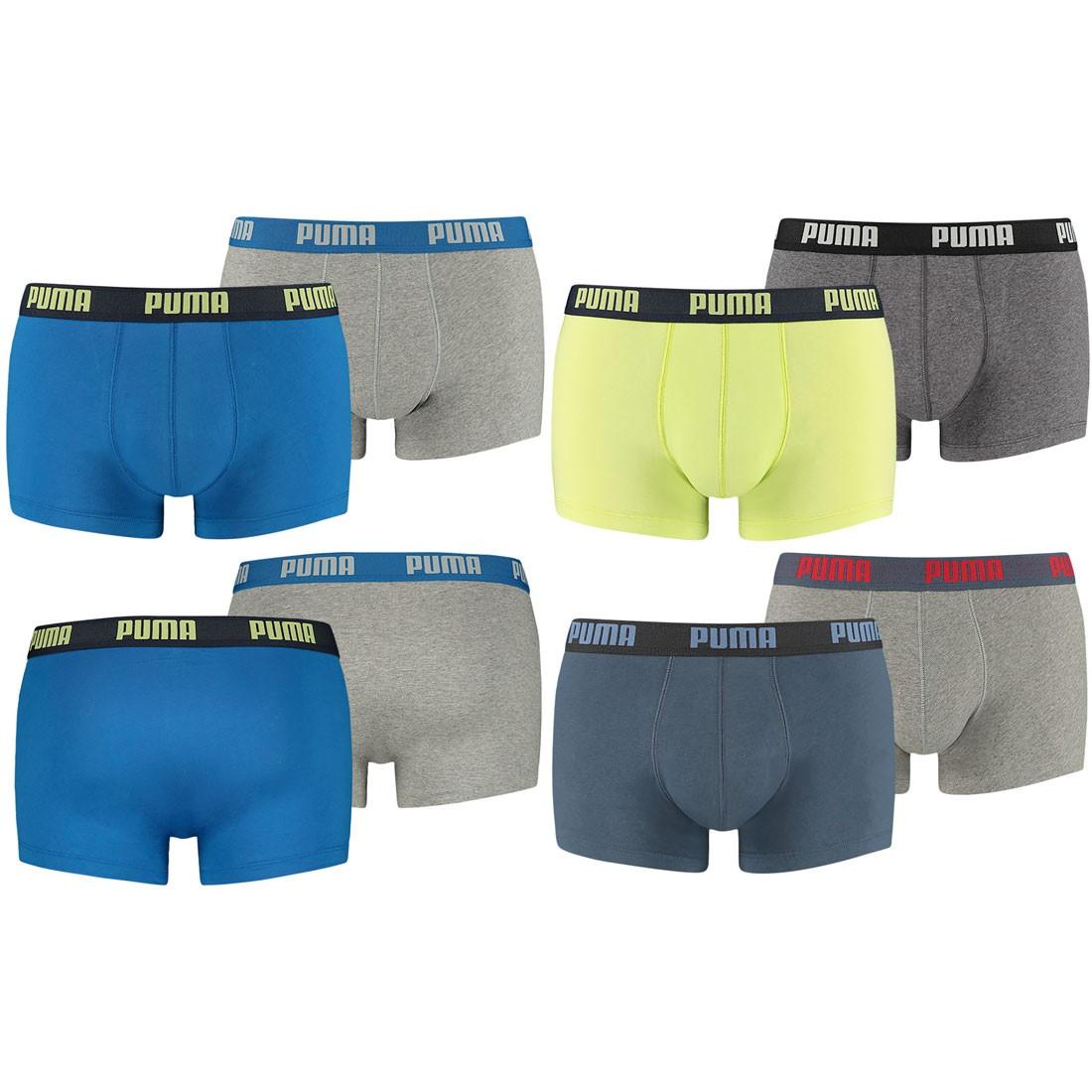 PUMA Herren Boxershorts, 4er Pack Trunks – Bild 1