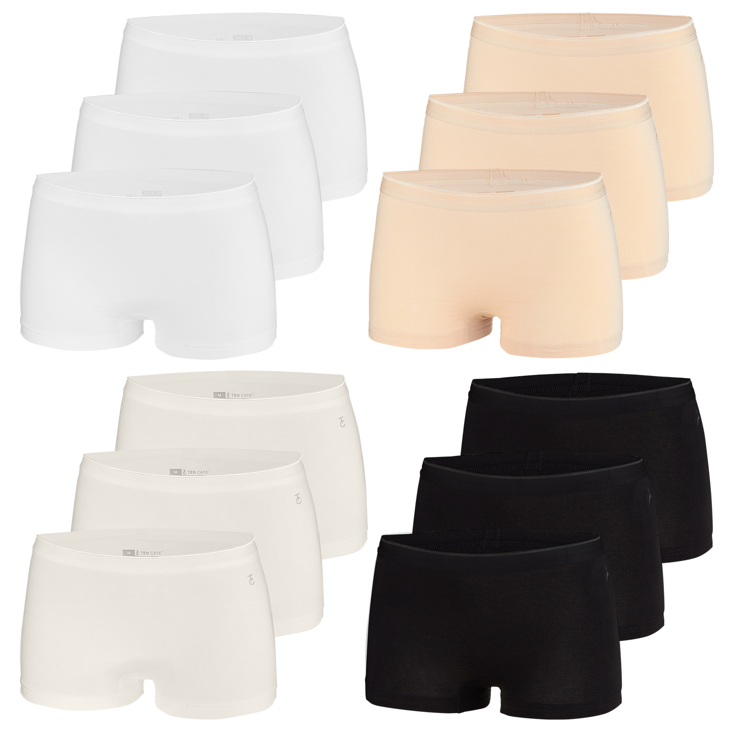 Ten Cate 3er Pack Damen Shorts – Bild 1