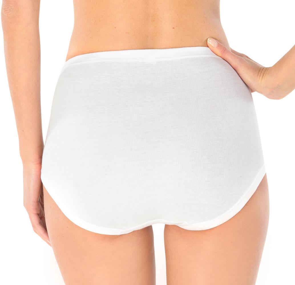 4er Pack Schiesser Damen Slips, Taillenslips, Feinripp, Unterhosen, Unterwäsche – Bild 2