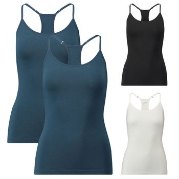 2  PUMA Damen Racer Back Tank Top, Iconic – Bild 1