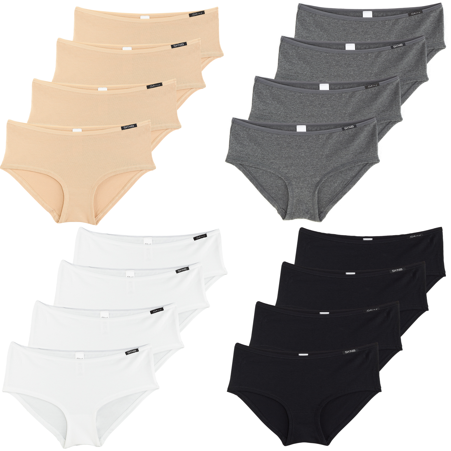 Skiny Damen Panty Advantage Cotton, 2 x 2er Pack – Bild 1