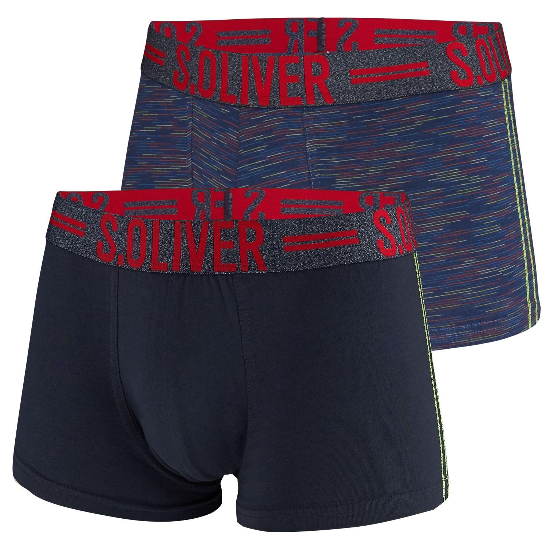 s.Oliver Herren Boxershorts, 2 Stück, auch Big Size  – Bild 2