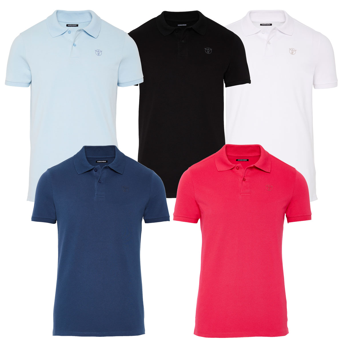 Chiemsee Herren Polo Shirt, T-Shirt, Marsa Men, Regular Fit – Bild 1