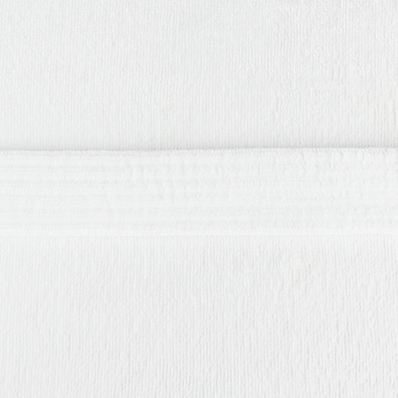 Kimono aus Frottee, Biobaumwolle, Morgenmantel, Bademantel, Saunamantel, weiß – Bild 3