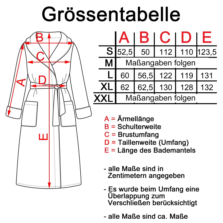 Kimono aus Frottee, Morgenmantel, Bademantel, Saunamantel, weiß, Modell 200 – Bild 3