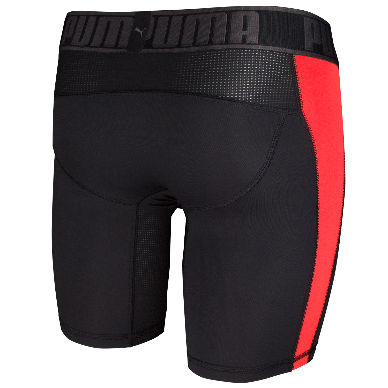 Puma Herren Active Long Boxer, 2 Stück schwarz, schwarz / rot – Bild 11