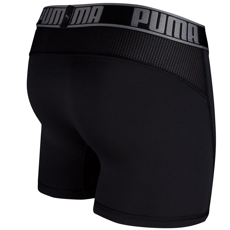 Puma Herren Active Boxershorts, 4 Stück, längeres Bein – Bild 10
