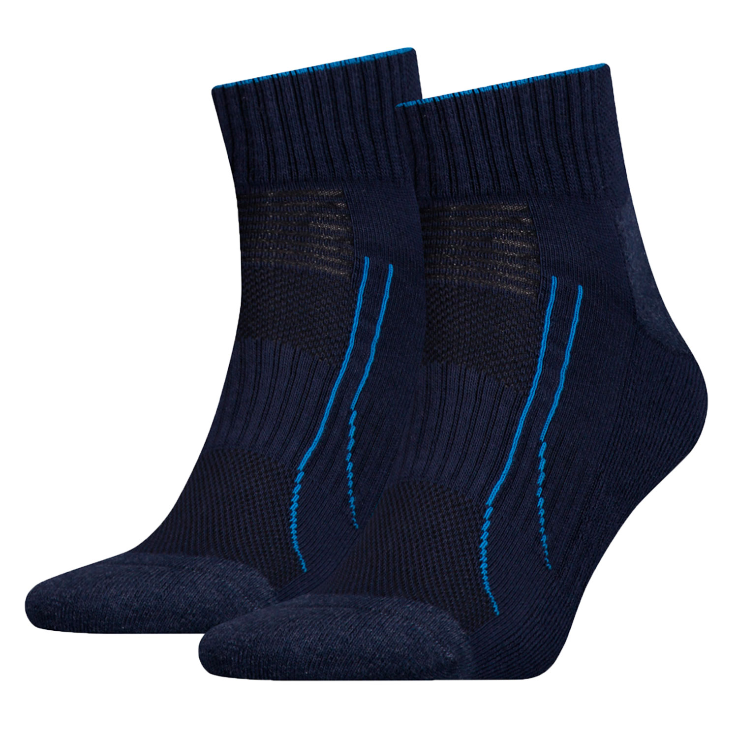 Puma Performance Train Quarter 6 Paar Kurzsocken Sportsocken Allround Sports – Bild 3