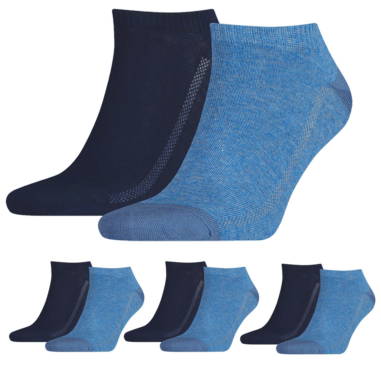 Levi's Füßlinge 8 Paar Low Cut Soft Cotton 943002001 verschiedene Farben – Bild 5
