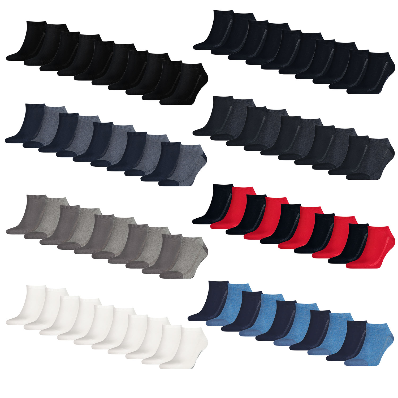 Levi's Füßlinge 10 Paar Low Cut Soft Cotton 943002001 verschiedene Farben – Bild 1