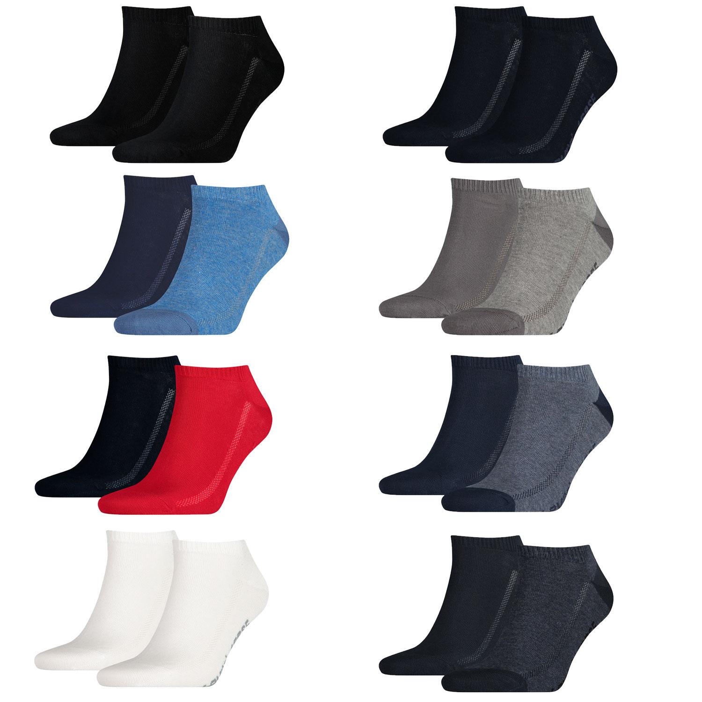 Levi's Füßlinge 10 Paar Low Cut Soft Cotton 943002001 verschiedene Farben – Bild 2