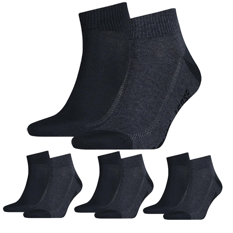 Levi's Quarter 8 Paar Mid Cut Soft Cotton 943003001 Socken verschiedene Farben – Bild 9