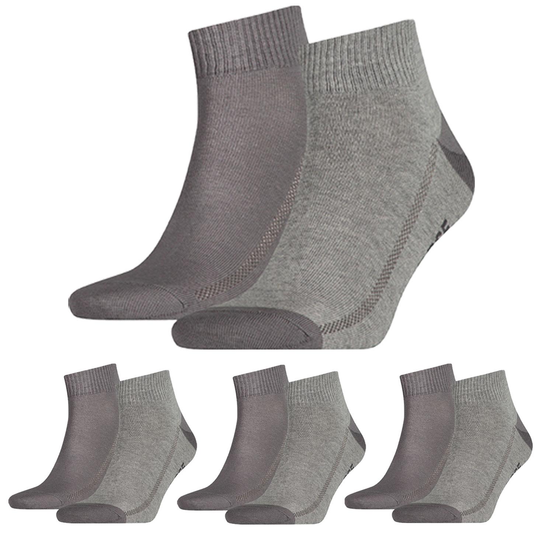 Levi's Quarter 8 Paar Mid Cut Soft Cotton 943003001 Socken verschiedene Farben – Bild 8