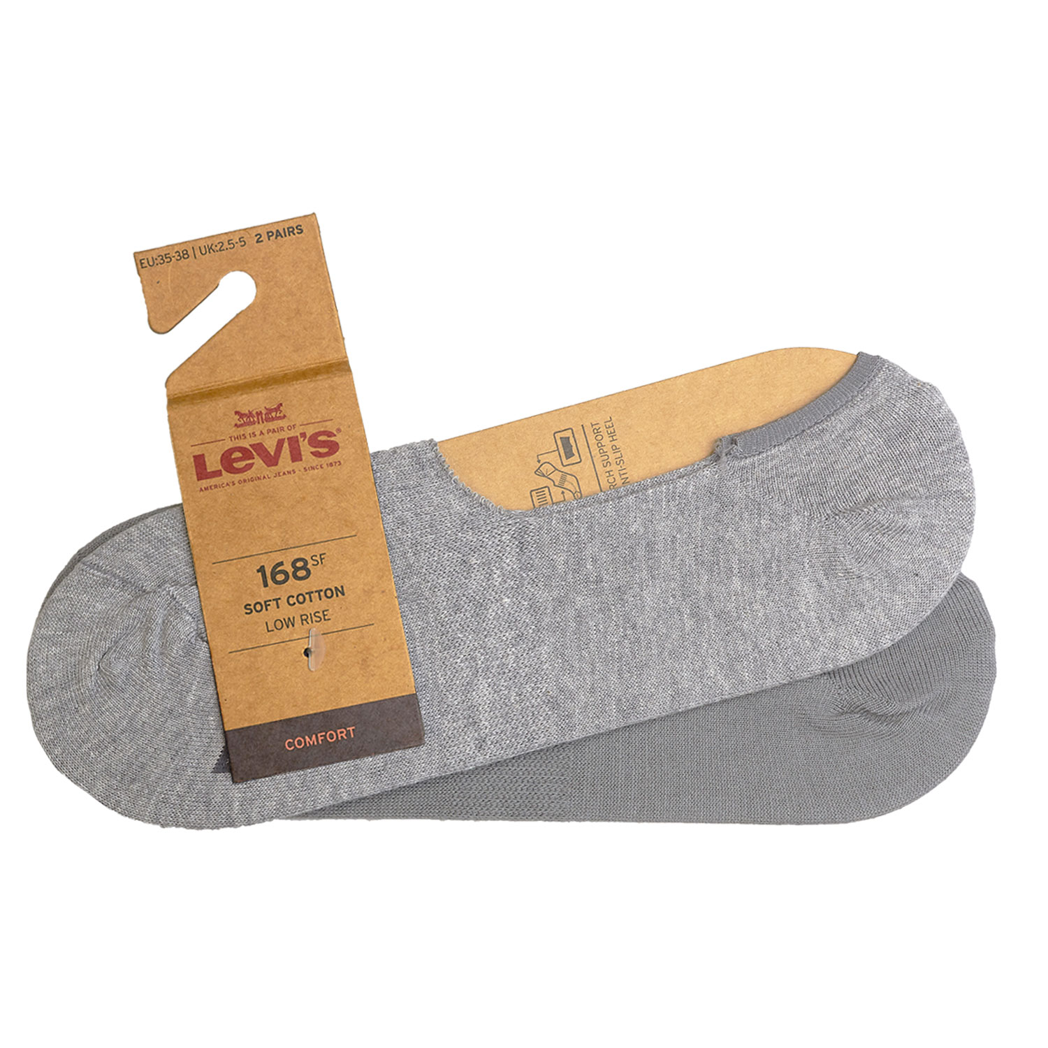 Levi's Füßlinge 8 Paar Low Rise Soft Cotton 943001001 Sneaker Footies Levis – Bild 8