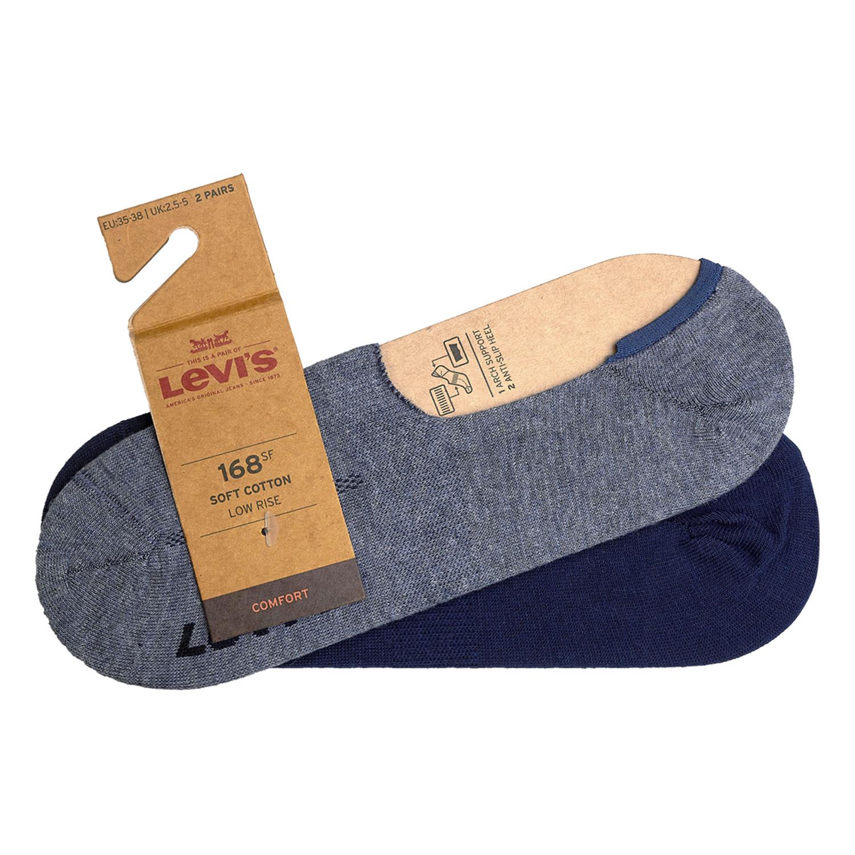 Levi's Füßlinge 8 Paar Low Rise Soft Cotton 943001001 verschiedene Farben – Bild 7