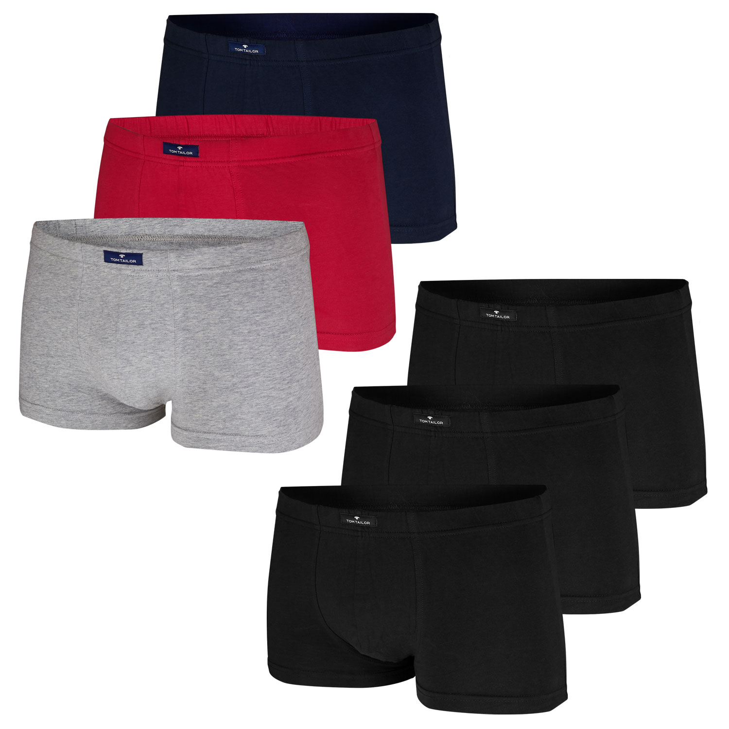 Tom Tailor Boxershorts 3er Pack 8710  – Bild 1