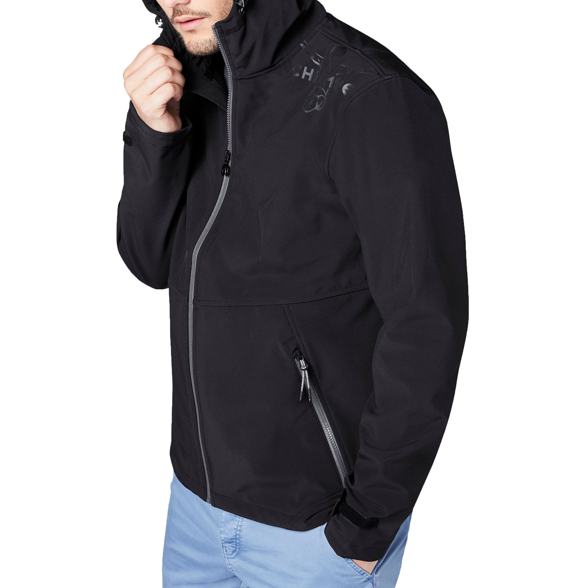 Chiemsee Herren Funktionsjacke Renaca Men mit Kapuze Softschelljacke Regular Fit  – Bild 6