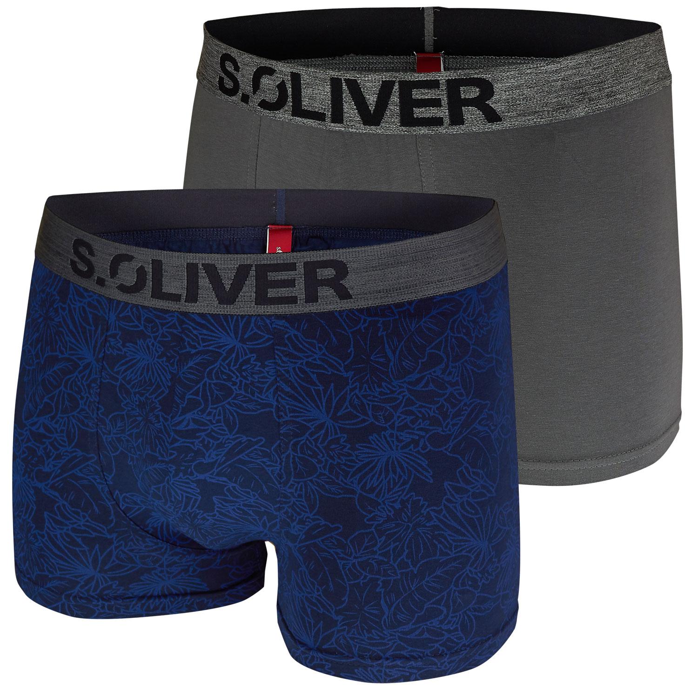 s.Oliver 2er Pack Herren Boxershorts 14A3 + 18D3 Shorts Pants – Bild 2