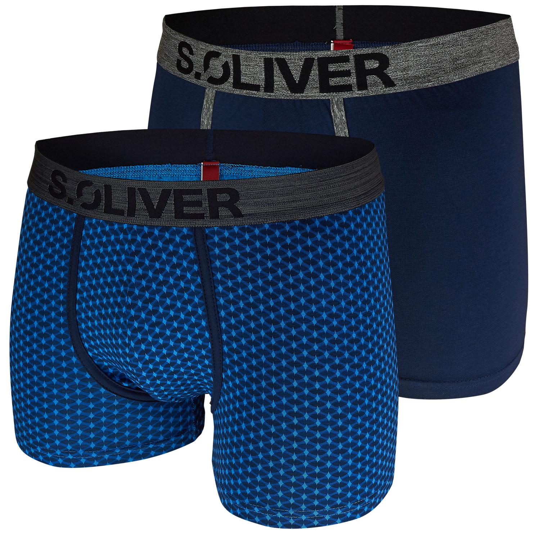s.Oliver 2er Pack Herren Boxershorts 14A3 + 18D3 Shorts Pants – Bild 9