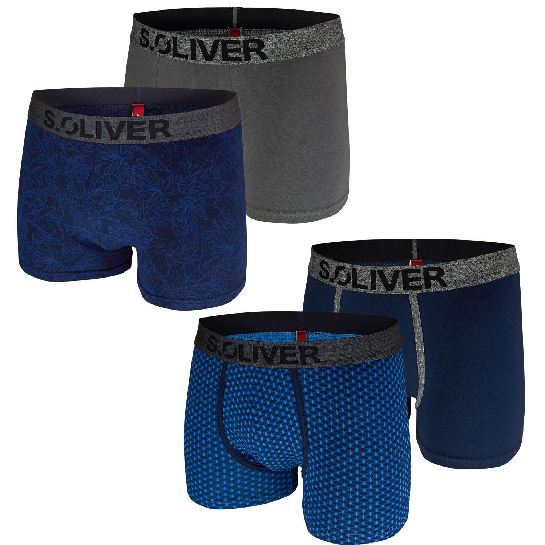 s.Oliver 2er Pack Herren Boxershorts 14A3 + 18D3 Shorts Pants – Bild 1