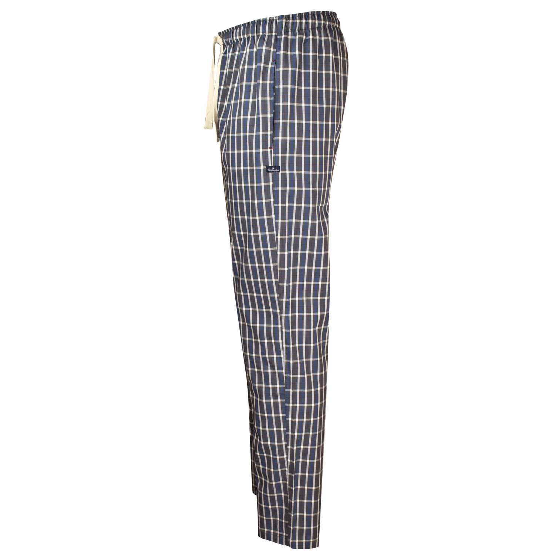 Tom Tailor Herren Pyjama Hose lang, kariert, Tunnelzugbund – Bild 4