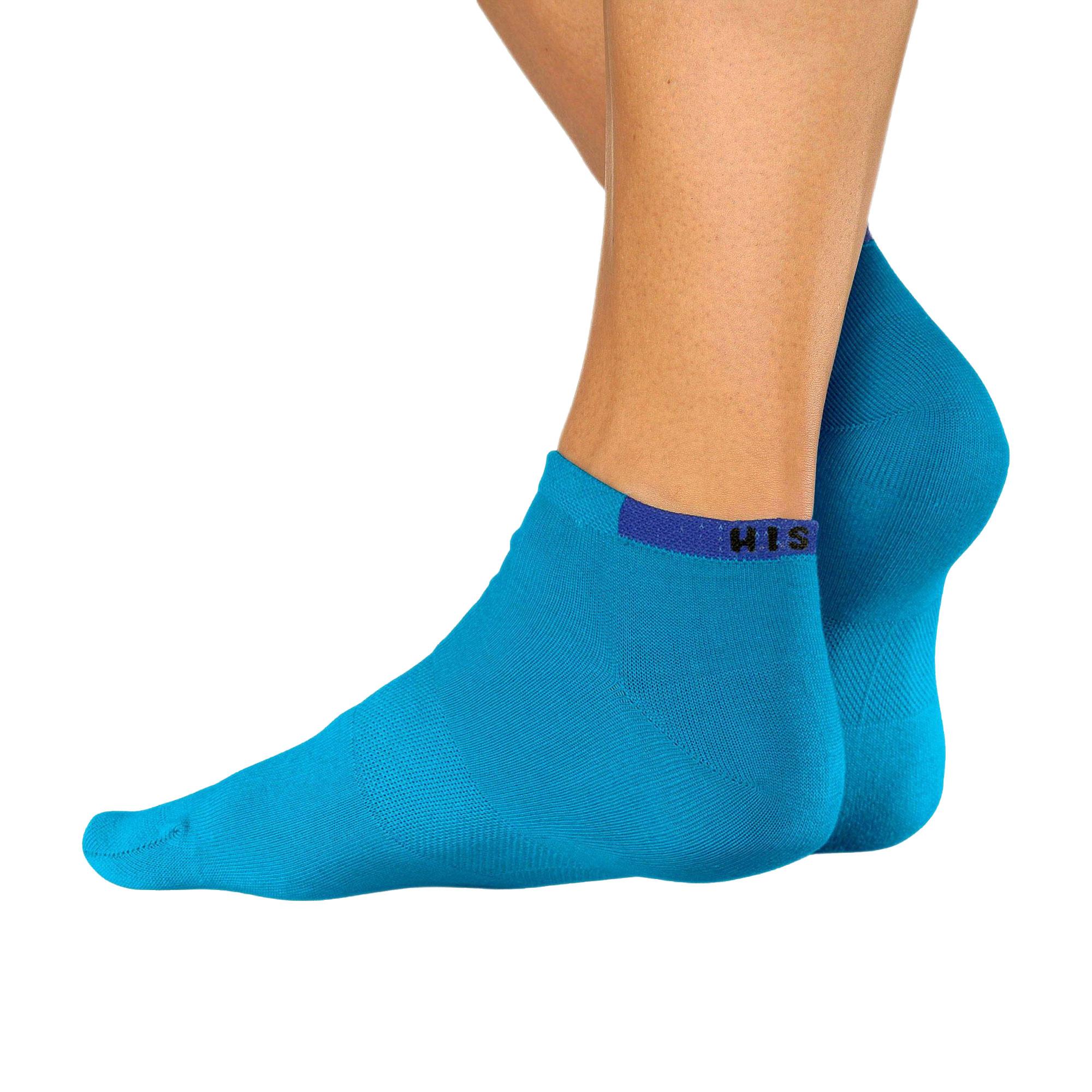 HIS Sneaker, Socken, Unisex, 10 Paar, verstärkte Belastungszonen – Bild 6