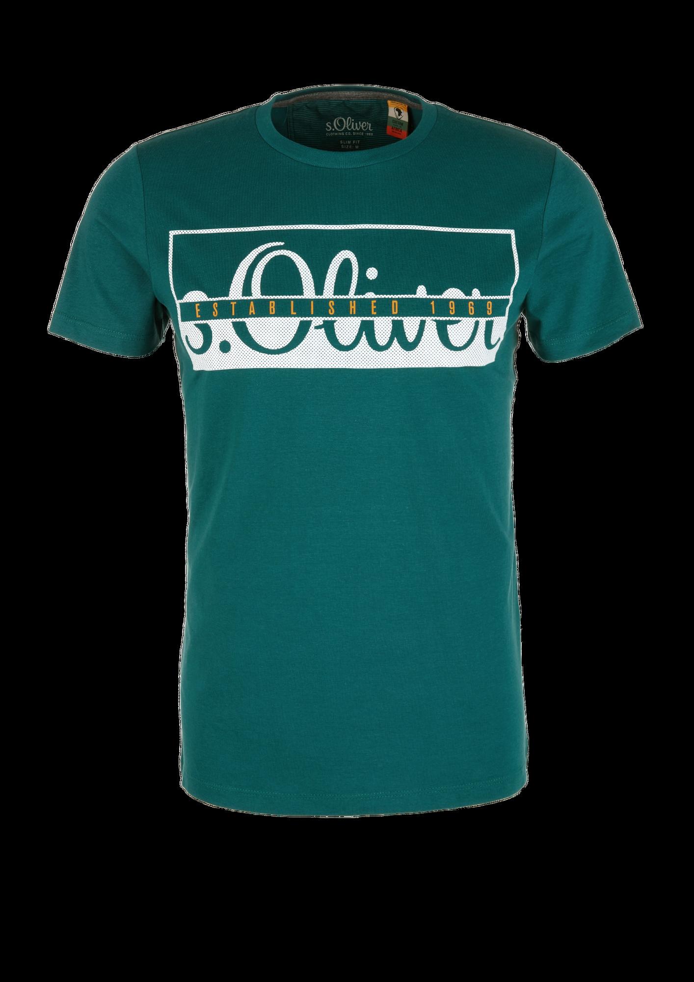 s.Oliver Herren T-Shirt, Rundhals Slim Fit, 2 Stück – Bild 23