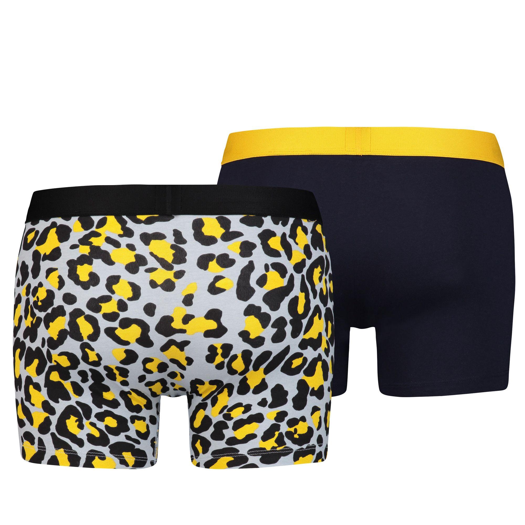 LEVI'S 4 Stück Herren Boxershorts, Bubble Cheetah Boxer – Bild 5