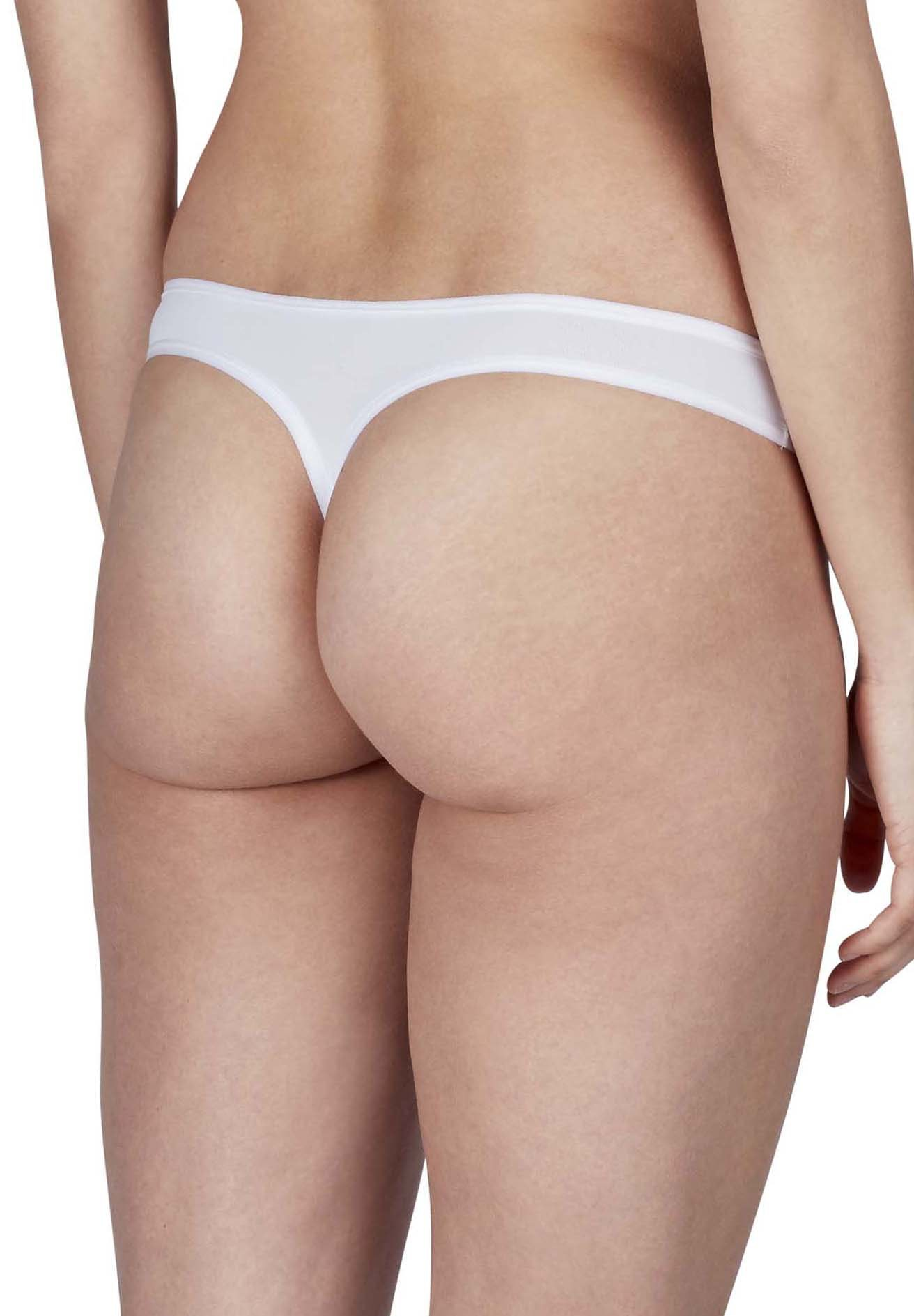 Skiny 4 Stück, Advantage Micro Damen String – Bild 5