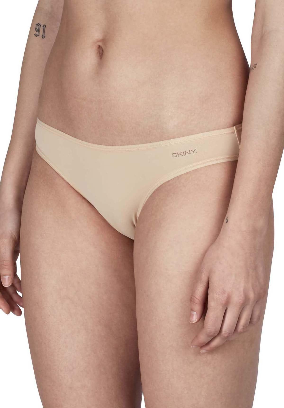 Skiny 4 Stück, Advantage Micro Damen Rio Slip, Bikini Brief – Bild 6